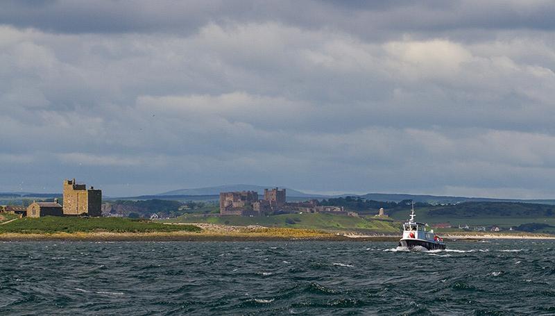 Holy Island en Bamburgh Castle