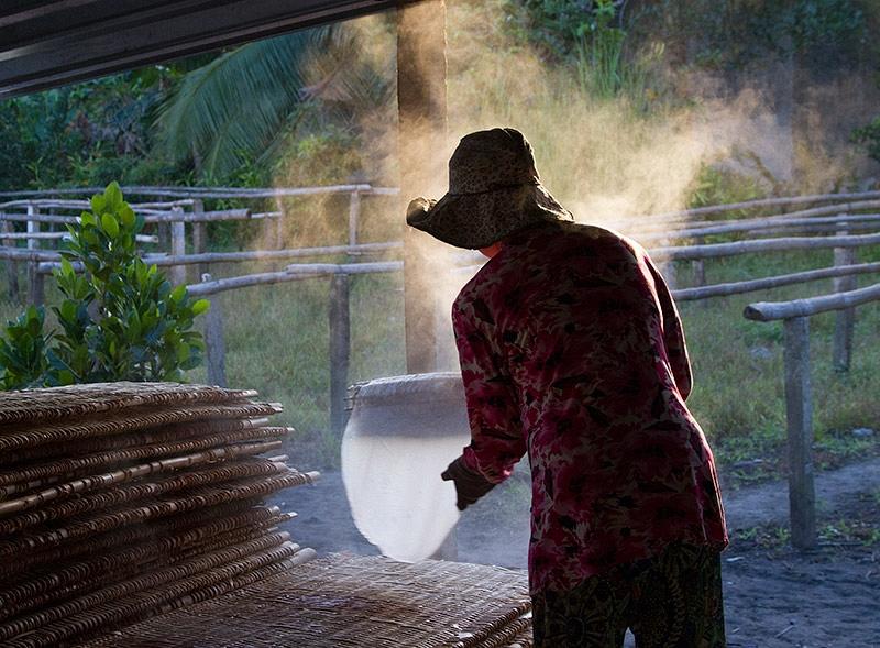 Rijstpapier maken