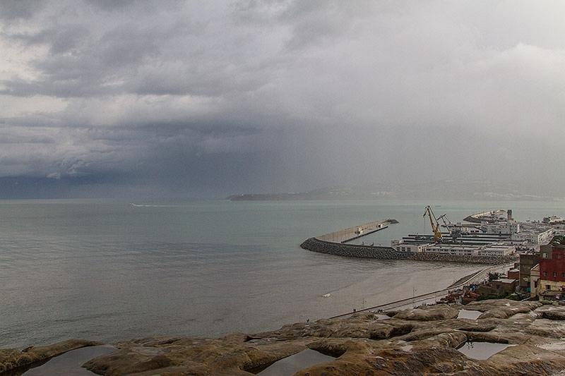 Uitzicht op Gibraltar