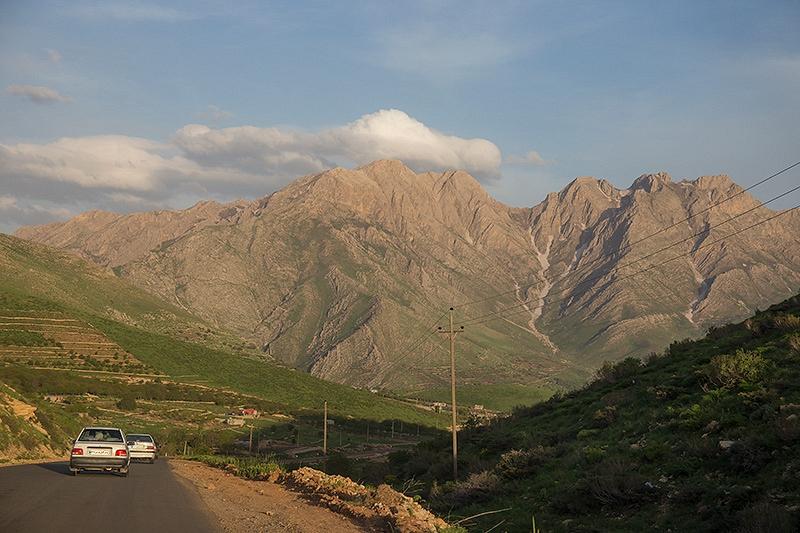 Route Marivan Howraman