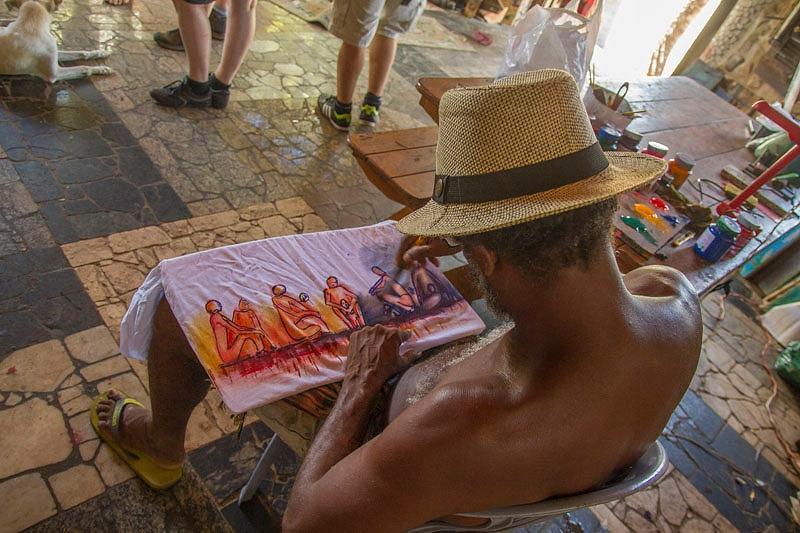 Hippiekunstenaar