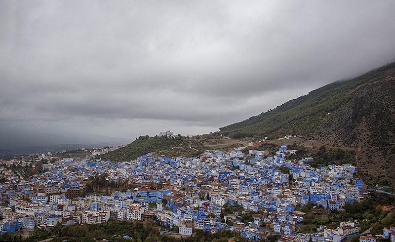 Uitzicht op de oude medina